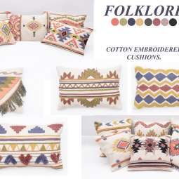 Kilim Embroidery Cushions