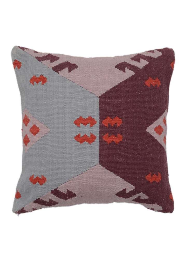 Woven Tribal Geometric Cotton Cushion Cover