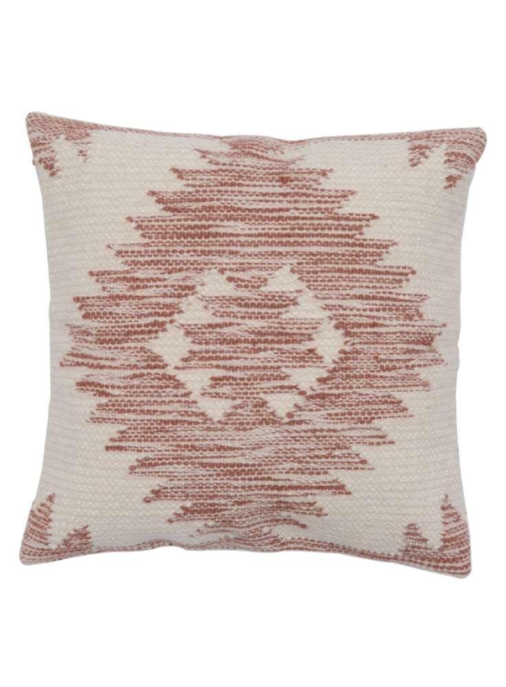 Kilim wool pink cushion cover