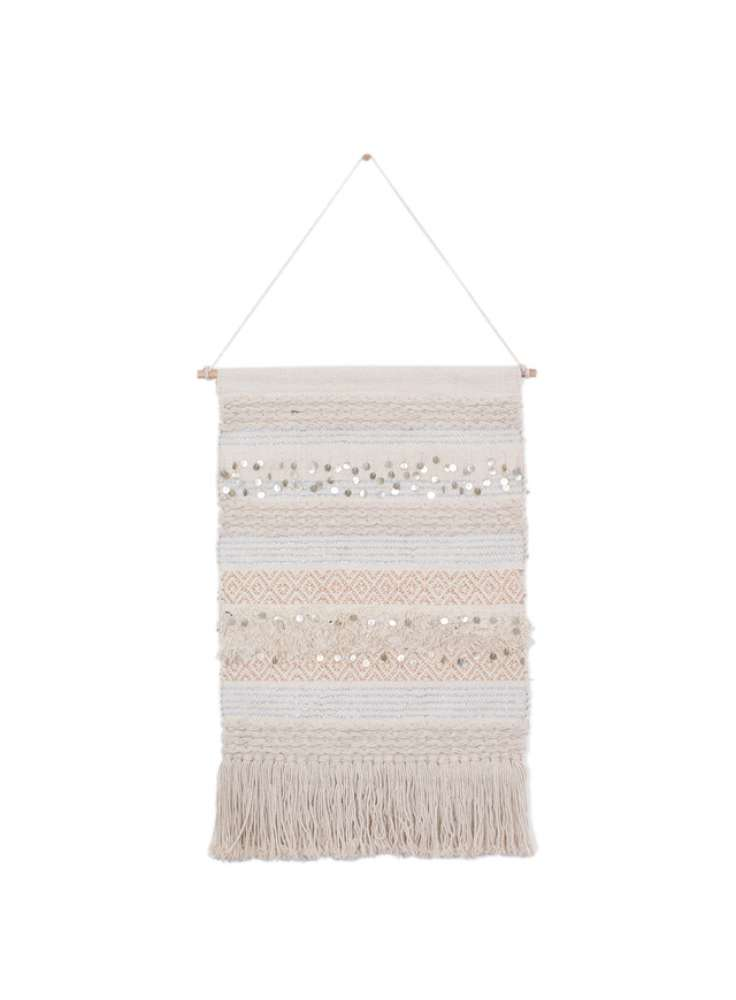Handmade Woven 100% Cotton Wall Hanging