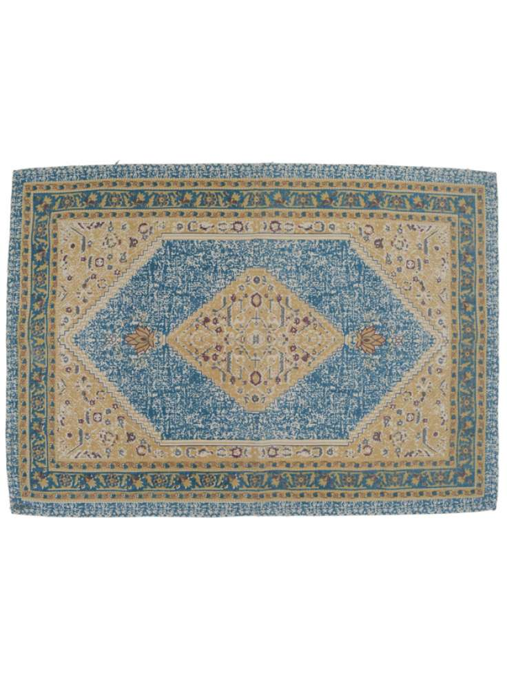 Printed Ethnic Design Rug