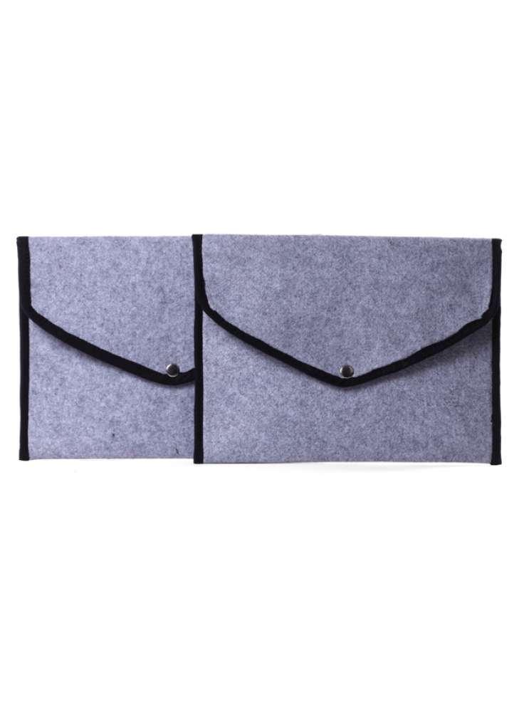 Assorted Envelope Felt Women Pouches