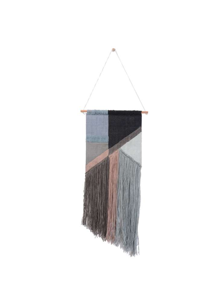 Multi-colored Cotton Wall Hanging