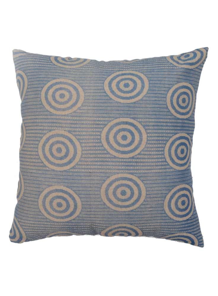 Geometrical Print Velvet Cushion Cover