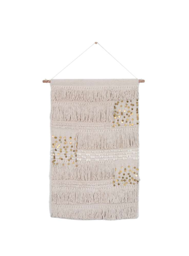 Handcrafted 100% cotton wall hanging