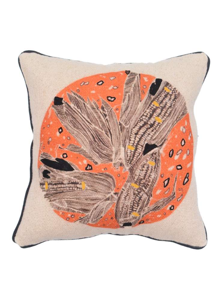 Handmade Cotton Embroidery Cushion Cover