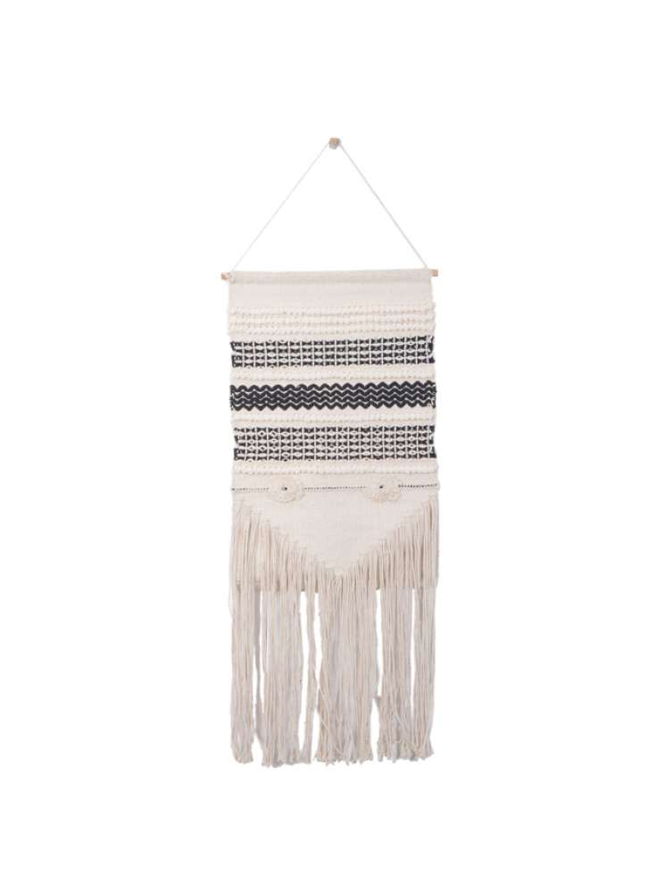 Handmade Home Decorative Woven Cotton Wall Hanging