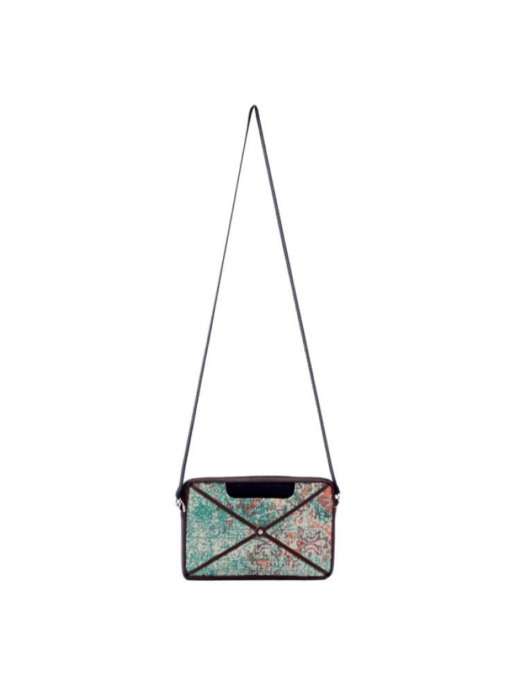 Printed Trendy Cotton Sling Bag