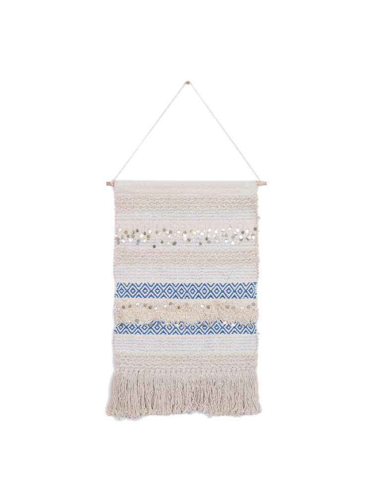 Cotton Shaggy Wall Hanging