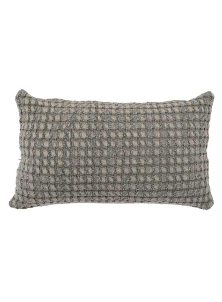Cotton Woven Rectangular Pillow Cover