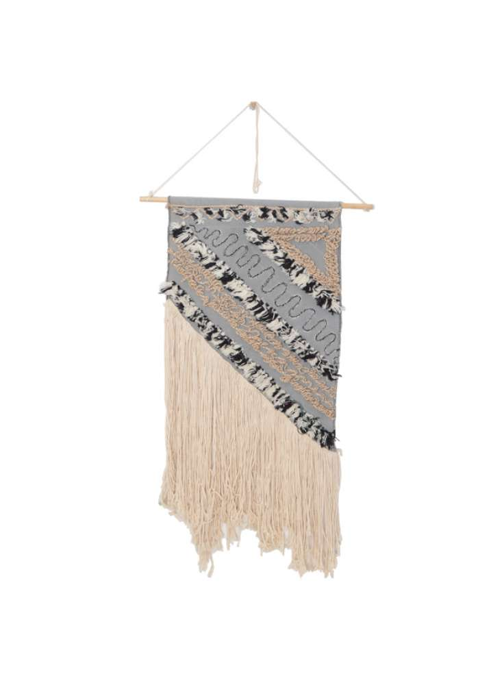 Multi Color Modern Design Woven Wall Hanging