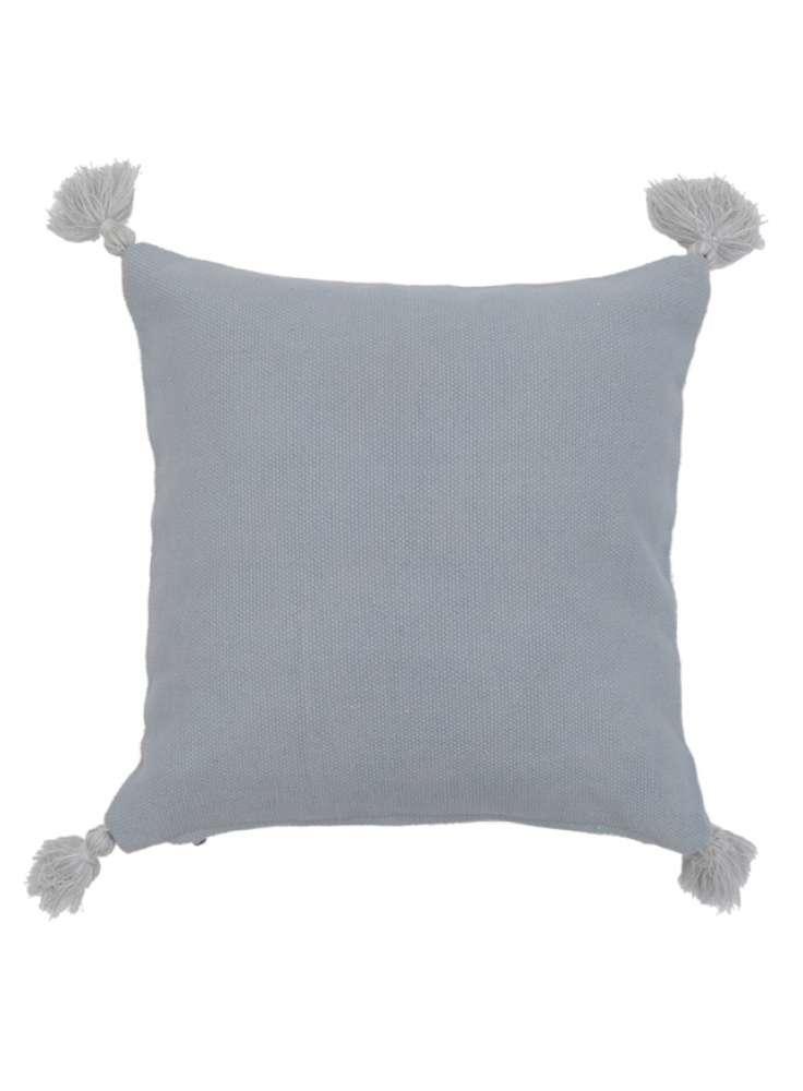 Cotton tassel decorative cushion cover
