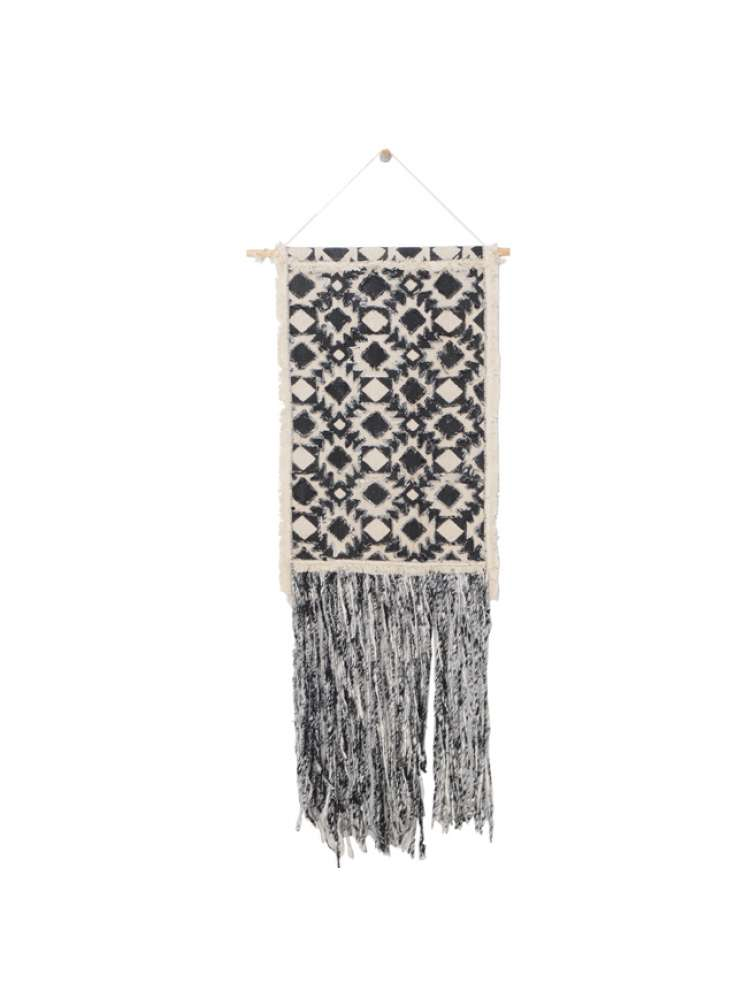 Handcrafted Geometric Design Cotton Wall Hanging