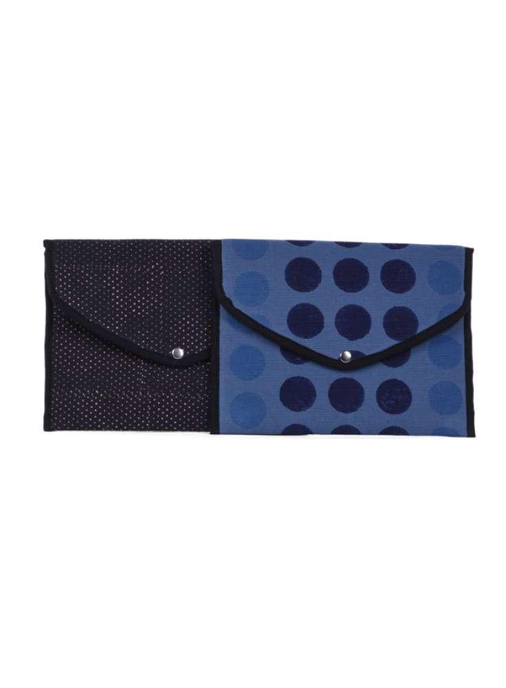 Assorted cotton envelope pouches