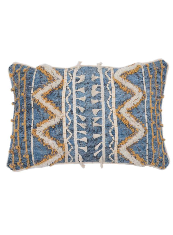 Cotton Hand Embroidered Pillow Cover
