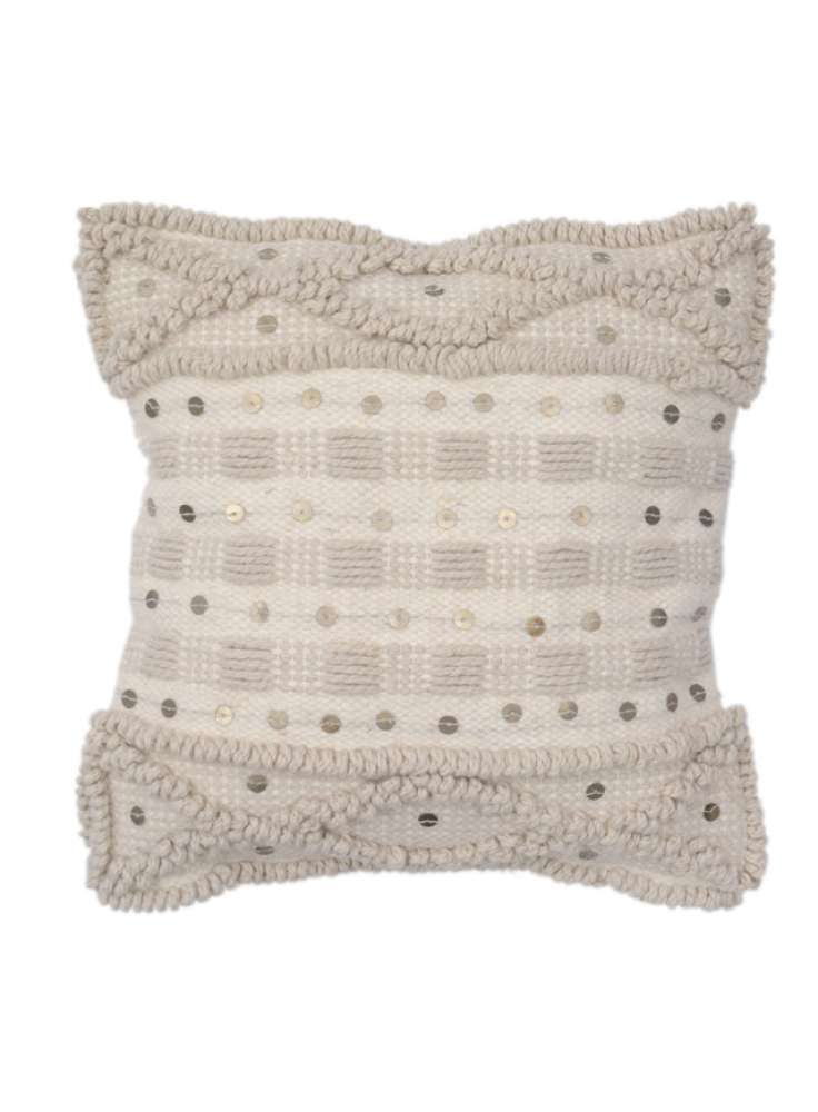 Cotton Woven Square Cushion Cover