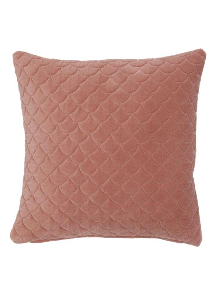 Tufted velvet cushion cover